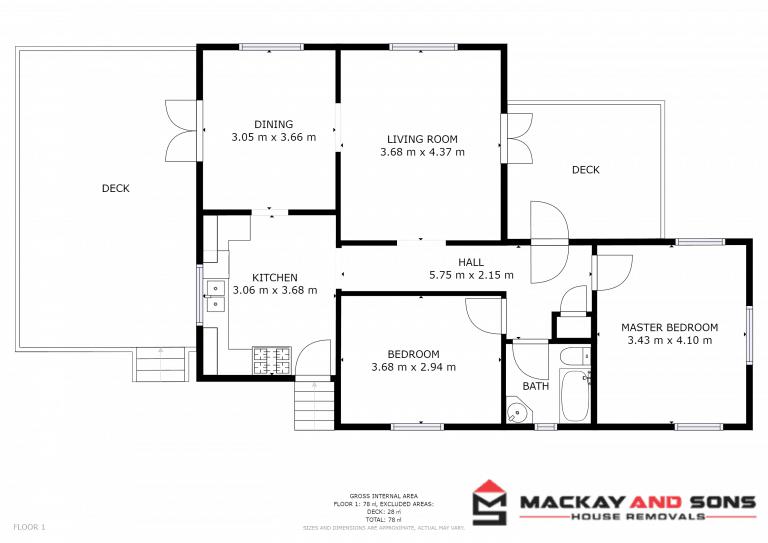 LUCA Floor plan